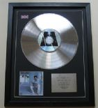 LIONEL RICHIE - Can't Slow Down CD / PLATINUM PRESENTATION DISC
